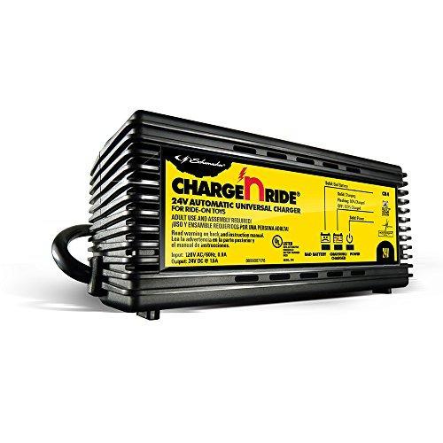 schumacher cr4 charge n ride 24 v cargador de bateria univer