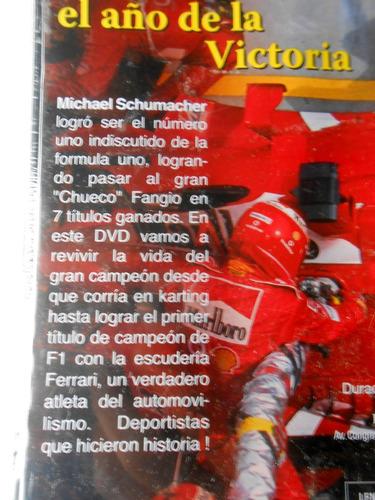schumacher el año de la victoria.dvd.avellaneda centro
