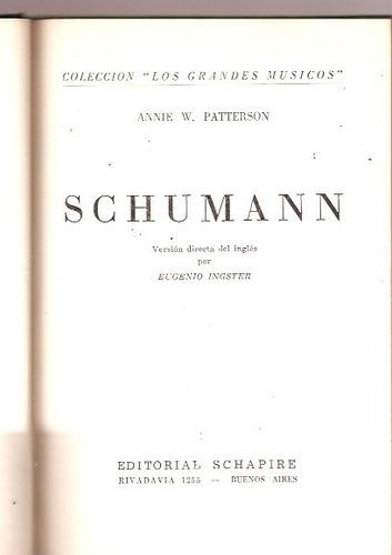 schumann  patterson