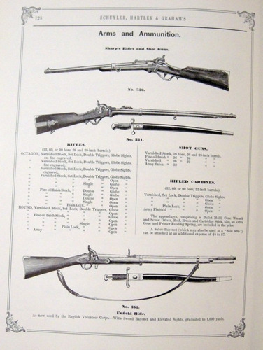 schuyler illustrated catalogue arms catalogo armas no envio