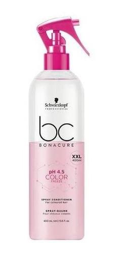 schwarzkopf bc bonacure ph 4.5 color freeze spray