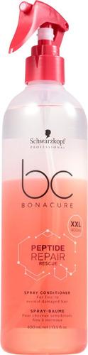 schwarzkopf leave in bonacure peptide repair rescue 400ml