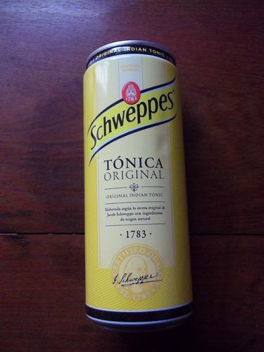 schweppes tonica españa lata vacia la plata fraganplat