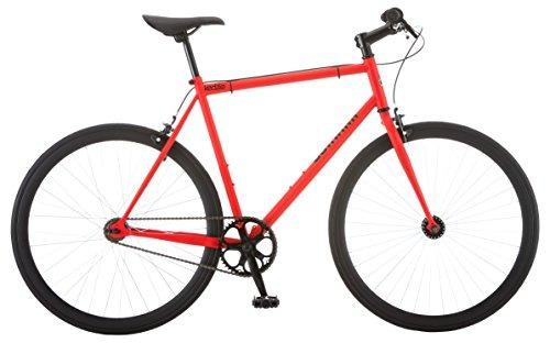 schwinn kedzie 700c fixie bicicleta, rojo