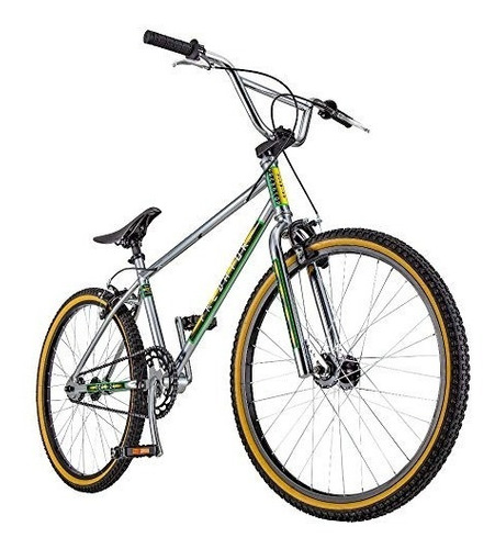schwinn predator team 24 bmx bike, 24  wheels, chrome