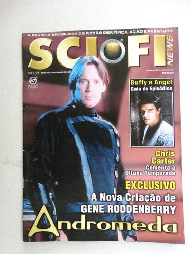 sci fi news ano 4 nº 4 - edição 38! novembro  2000!