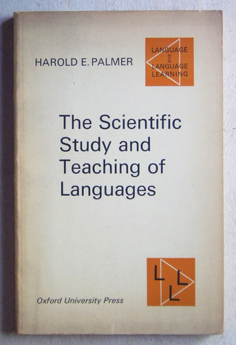 scientific study and teaching of languages / palmer, 1968