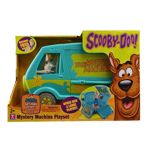 scooby doo camion maquina misteriosa con fred original tv