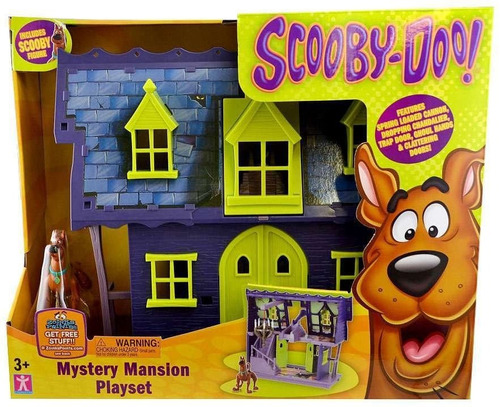 scooby doo mansion de misterio playset mystery mansion intek