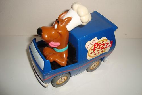 scooby-doo,entregador de pizza,hanna barbera,fricção,usado