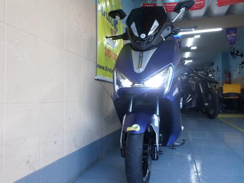scooter 100% elétrica 1800w modelo tiger x6 aima motor bosch