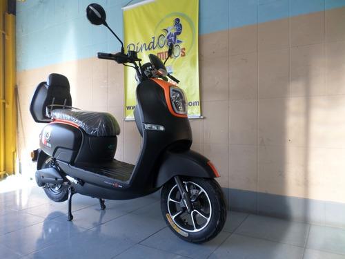 scooter 100% eletrica 500w modelo aio marca aima motor bosch