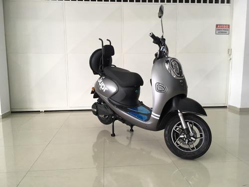 scooter 100% eletrica 800w modelo big di yue marca aima