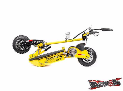 scooter 100% elétrico dobrável 1000w 48v