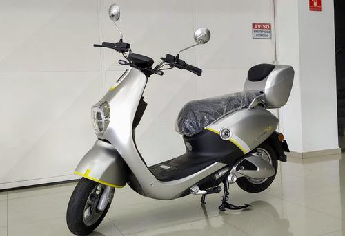 scooter 100% eletrico motor 800w bosch modelo mine plus