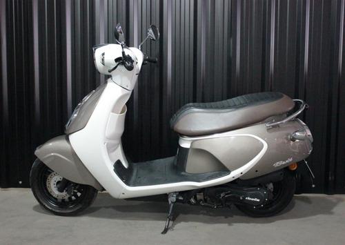 scooter 125 usado daelim besbi 2018  125cc vendé tu usado!