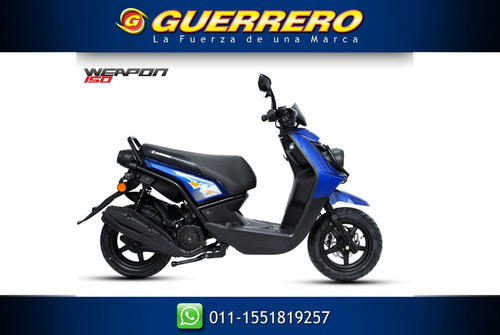 scooter 150 weapon