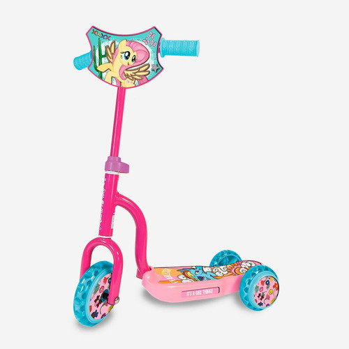 scooter 3 ruedas unibike my little pony