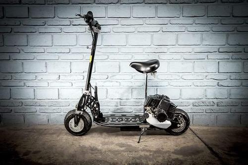 scooter 50 cc motor 2 tiempos con asiento carga maxima 90 kg