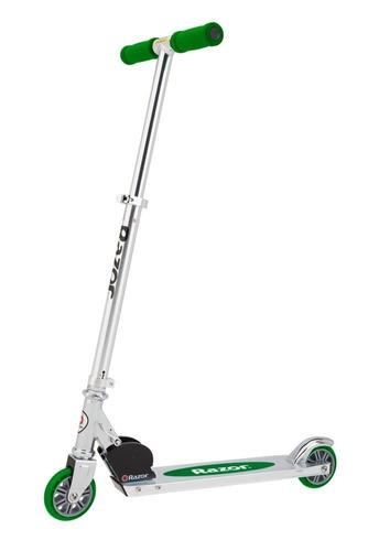 scooter aluminio plegable marca razor patin diablo niño