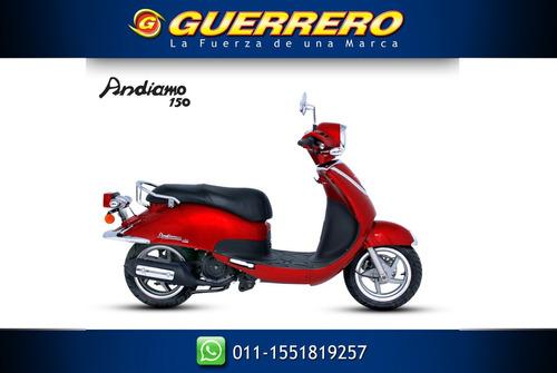 scooter  andiamo 150