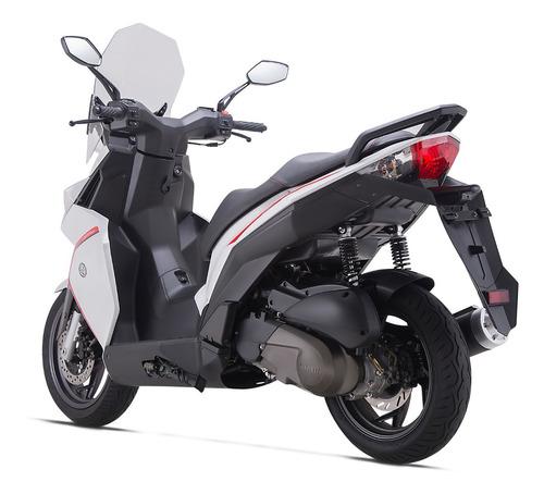 scooter benelli caffenero 150 azul