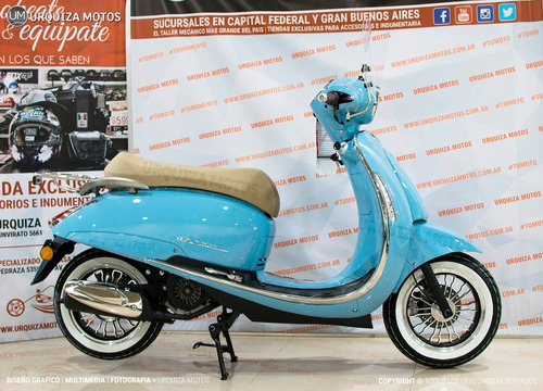 scooter beta arrow tempo 150 0km urquiza motos estilo retro