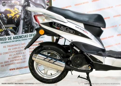 scooter beta scooby 80 creditos personales urquiza motos