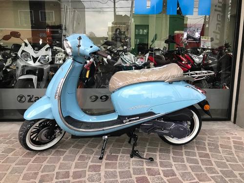 scooter beta tempo 150 de luxe 0km nueva motoneta retro vint