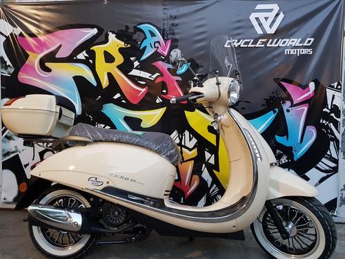 scooter beta tempo 150 de luxe celeste  0km 2018 hasta 10/11