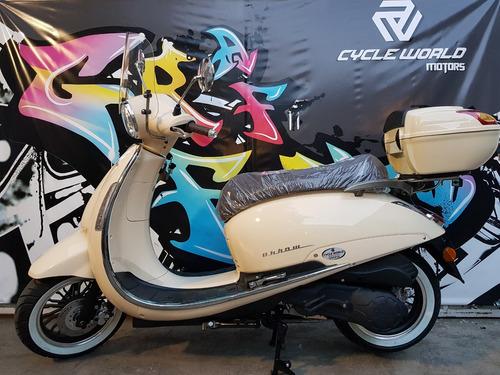 scooter beta tempo luxe 150 0km 7.5 hp 2018 verde hasta10/11