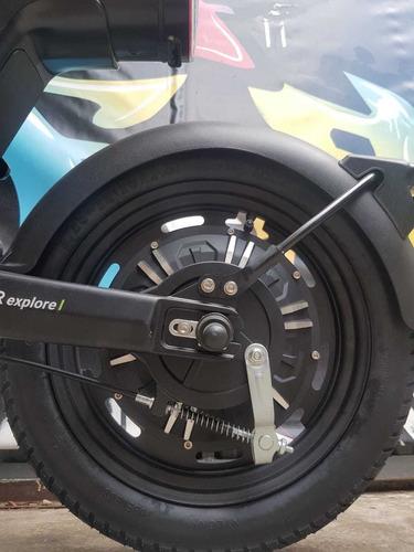 scooter bicimoto sunra z-bot electrico 800w rojo al 19/7