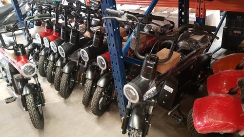 scooter bicimoto sunra z bot electrico 800w rojo al 25/5