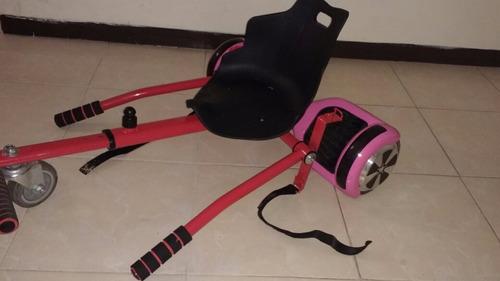 scooter con aditamento gokart con bocina bluetooth