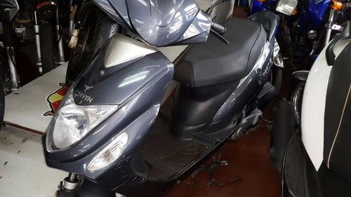 scooter corven 80  2012 rayomoto permuta menor valor