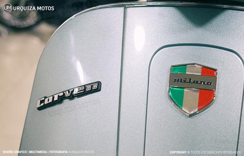 scooter corven expert 150 milano vintage retro usb styler