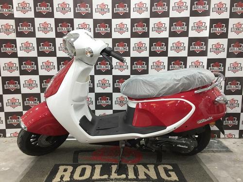 scooter daelim besbi 125 0km 2017 kymco like 125