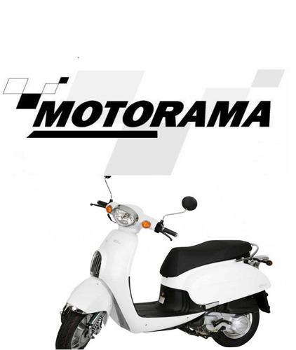 scooter daelim besbi 125 0km  concesionaria motorama