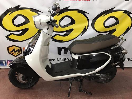 scooter daelim besbi 125 motos