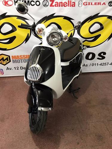 scooter daelim besbi 125 retro vintage 0 km okm 999 motos