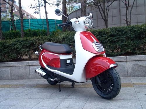 scooter daelim besbi motos