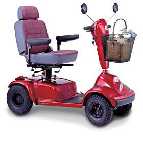 scooter de 4 ruedas, a batería, nuevo