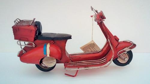 scooter de metal