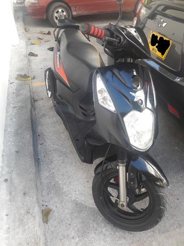 scooter dynamic ak 125sc negra