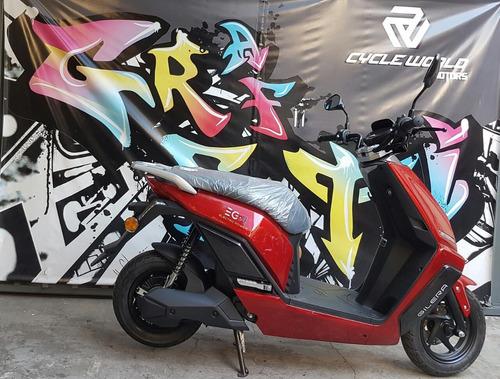 scooter electrica gilera eg2 0km litio cuotas ahora 12  25/5