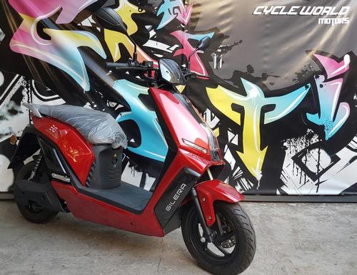 scooter electrica gilera eg2 0km litio extraible promo  19/7