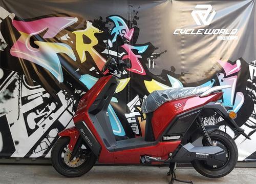 scooter electrica gilera eg2 0km litio extraible promo  25/5
