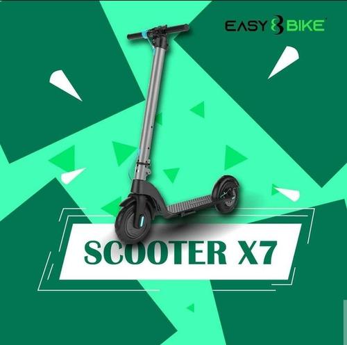 scooter eléctrica o patineta eléctrica