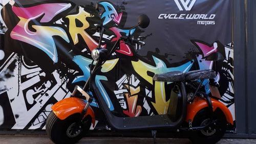 scooter electrica sunra spy racing 1000w litio viajas seguro