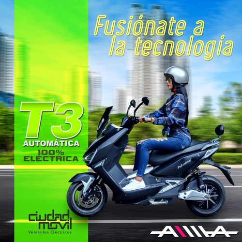 scooter eléctrica t3 tiger x6 aima 1800 watts